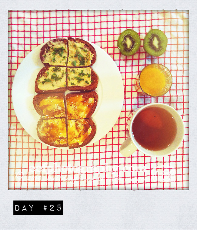 100 days of breakfast ~ week 5 ~ eef ouwehand persoonlijk project instagram