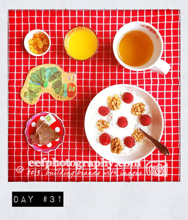 100 days of breakfast | 100 dagen ontbijt | eef ouwehand