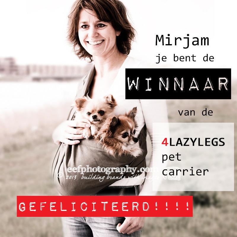 Winnaar 4 lazylegs pet carrier | eefphotography | blog