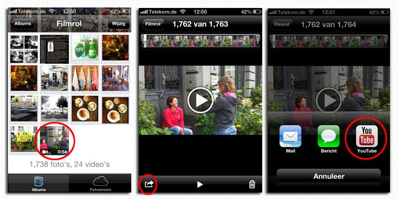 eefphotography | Blog uploaden naar youtube vanaf je telefoon #videobloggen