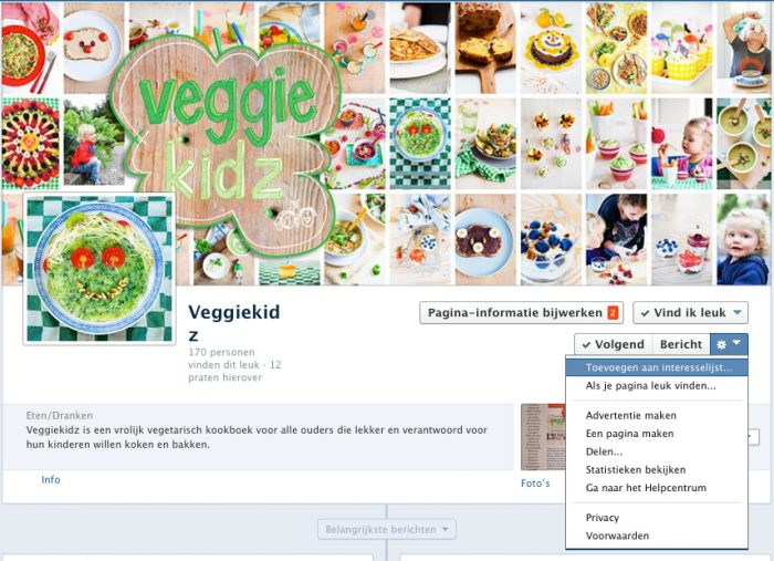 www.facebook.com/veggiekidz