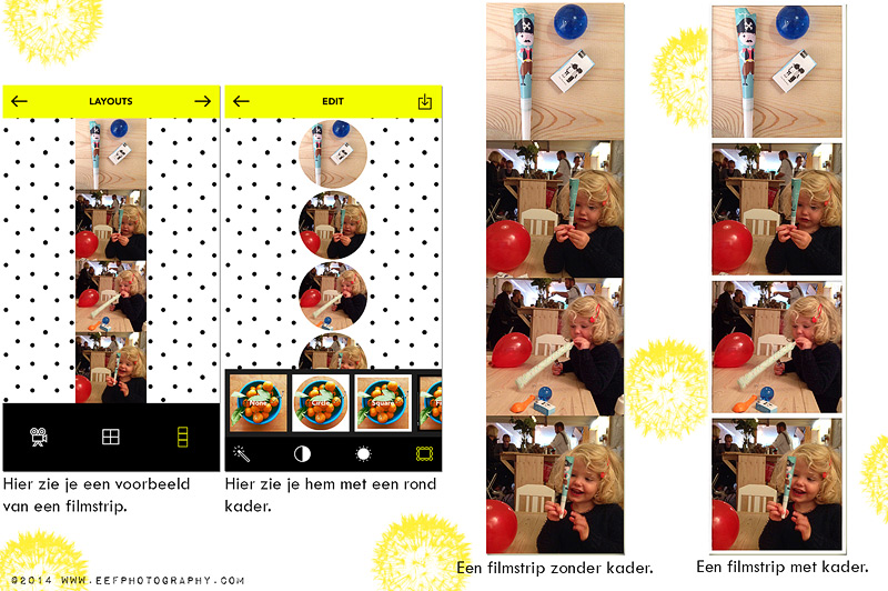 Maak zelf je eigen animated gif met de party party app van a beautiful mess