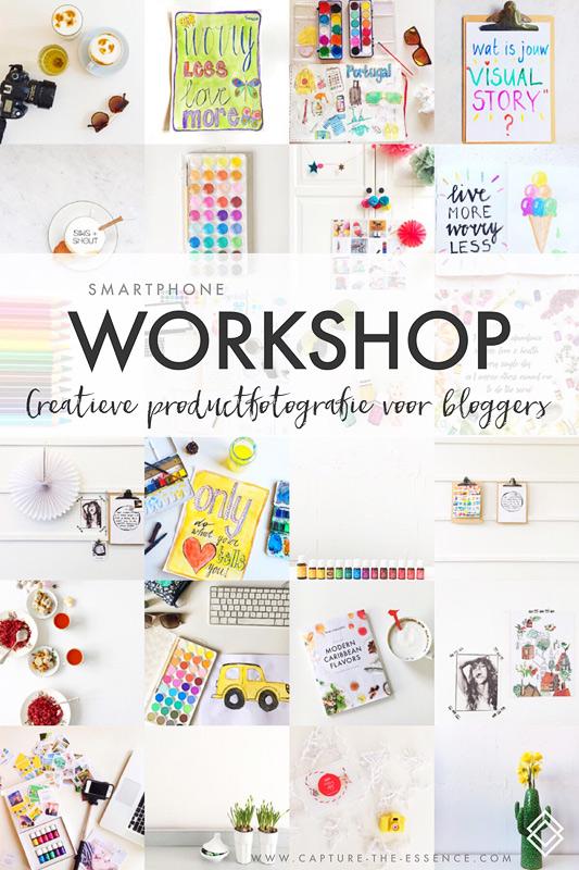 Creatieve productfotografie bloggers