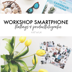 WORKSHOP FLATLAYS & PRODUCTFOTOGRAFIE