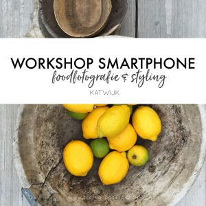 Workshop foodfotografie & styling