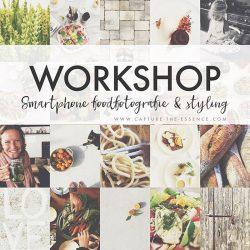 workshop foodfotografie & styling smartphone
