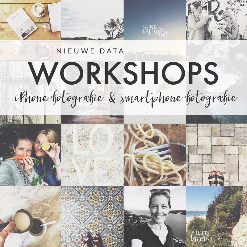 workshops iPhone & smartphone fotografie