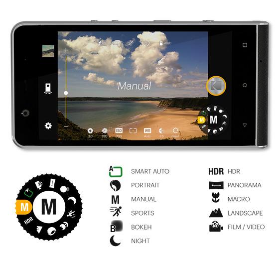 kodak ektra smartphone -image by kodak