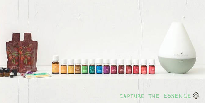 Premium starterkit young living. Capture the essence