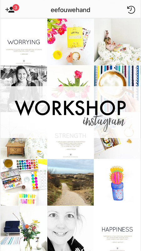 Workshop Instagram, workshop instagram amsterdam