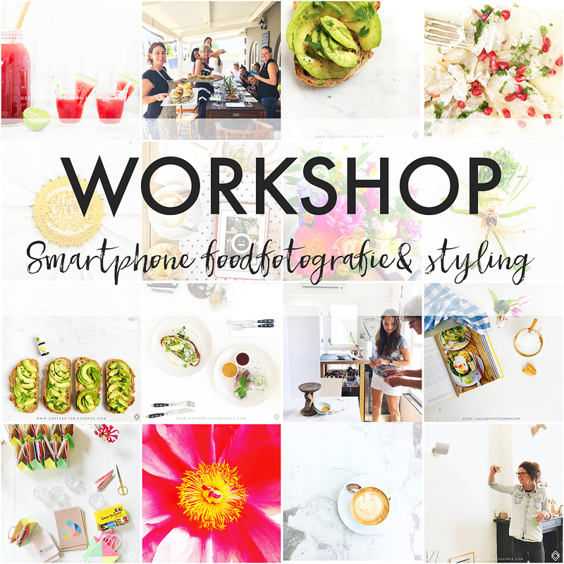 workshop food fotografie en styling