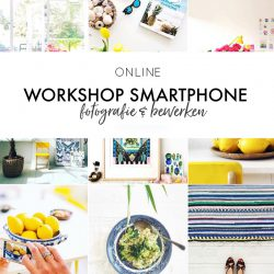 Online workshop smartphonefotografie